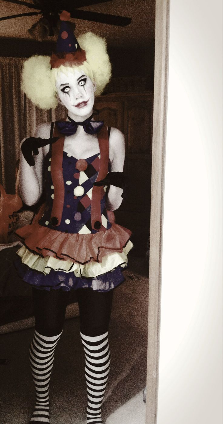 My scary clown costume! #PartyCity rocks!