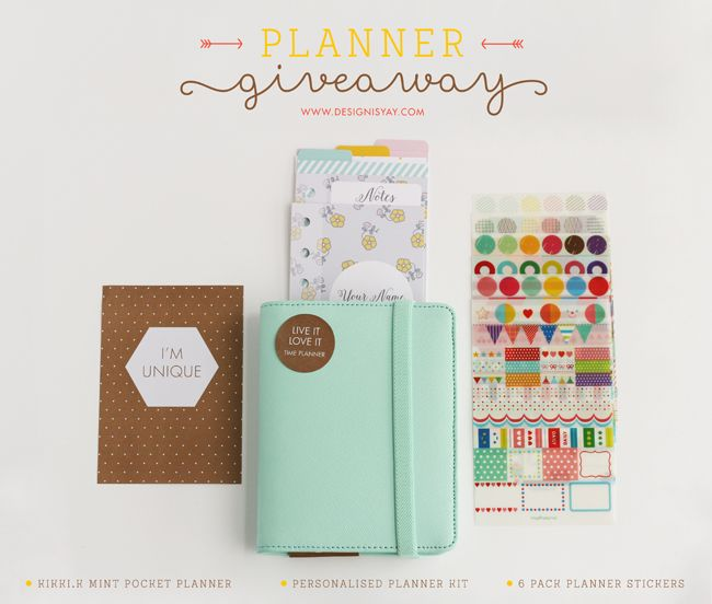 Gorgeous planner