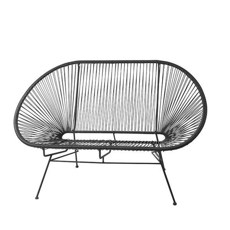 Bahne Mexico sofa, 2 pers. - sort