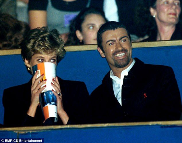 Best friends: George Michael's new biography George Michael discloses details of his close relationship with Princess Diana and how it was 'very clear' that she was 'very attracted' to him