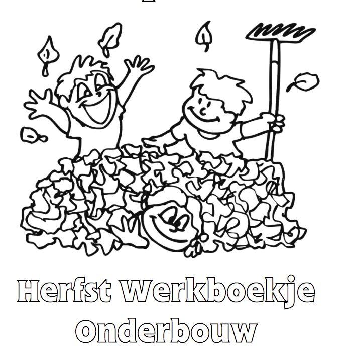 Hertfst Werkboekje voor de Onderbouw. Klik voor de PDF