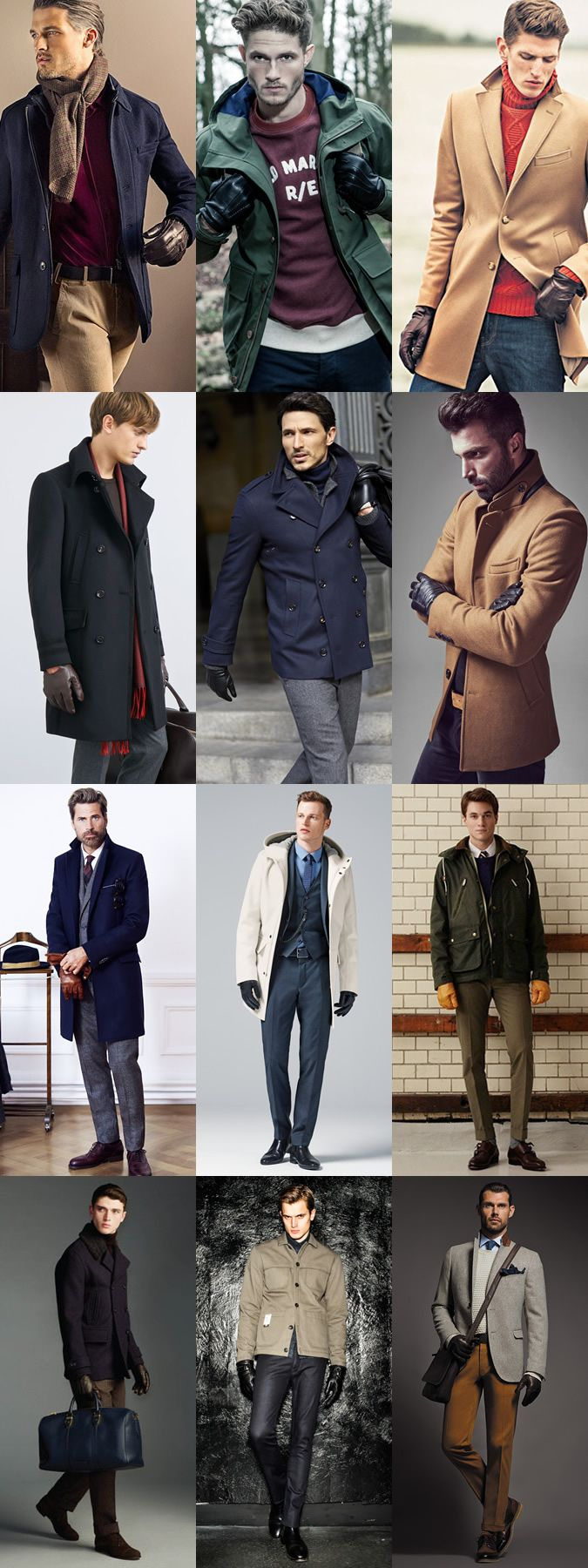Mens leather gloves sydney - Men S Autumn Winter 2014 Accessory Trends Luxe Leather Gloves Lookbook Inspiration Thestylesight