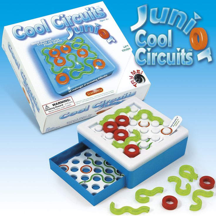 Cool Circuits Junior>Educatief speelgoed>Alle Producten>Apart en origineel speelgoed, webwinkel TrendySpeelgoed.nl