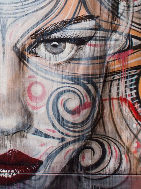 Gorgeous! RONE, Phibs y Anthony Lister en Sidney : Distorsion Urbana
