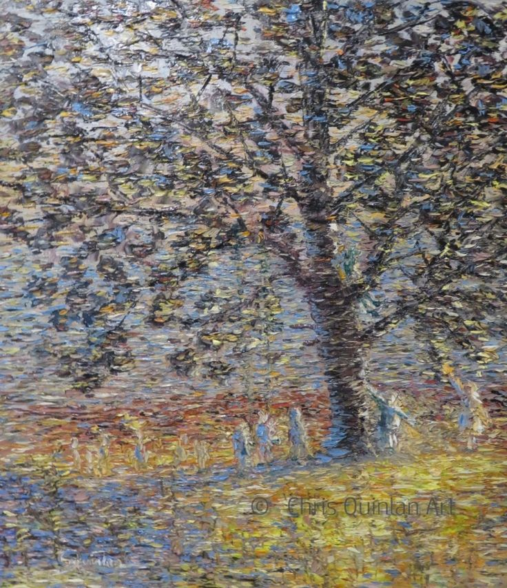 "Landscape Impressionism Artwork by Chris Quinlan - 20"" x 16""oil painting on canvas - http://quinlanart.com/116"