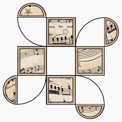 Caja notas musicales