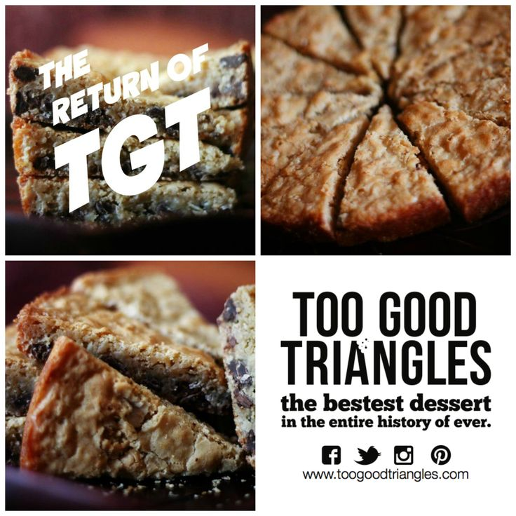 #iloveTGT - so glad to see this pastry pimp back in biz! #vegan #glutenfree #trianglegoodies