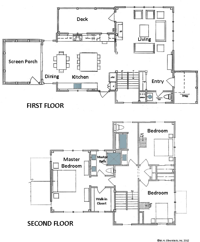 21 best images about floor plans on pinterest floors for Modern house plans under 2500 square feet