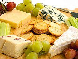 Comer en París, quesos