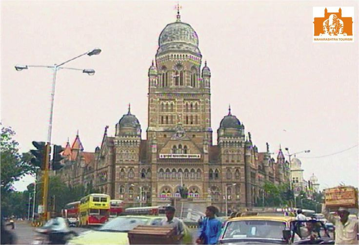 The building houses the civic body that governs the city of Mumbai, which is now named the Brihanmumbai Mahanagar Palika