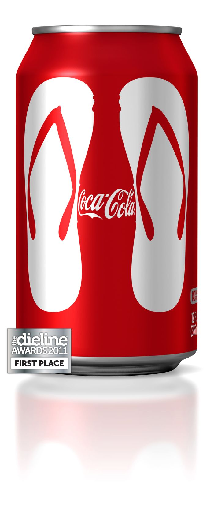 The Dieline Awards 2011 First Place / Coca-Cola Summer 2010