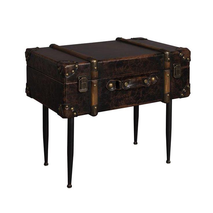 Bij Dutchbone zijn ze erg goed in out of the box denken... of in dit geval; out of the koffer! De Luggage bijzettafel kun je helaas niet meenemen op reis, maar hij steelt wél de show in jouw interieur. De vintage look maakt hem lekker stoer!