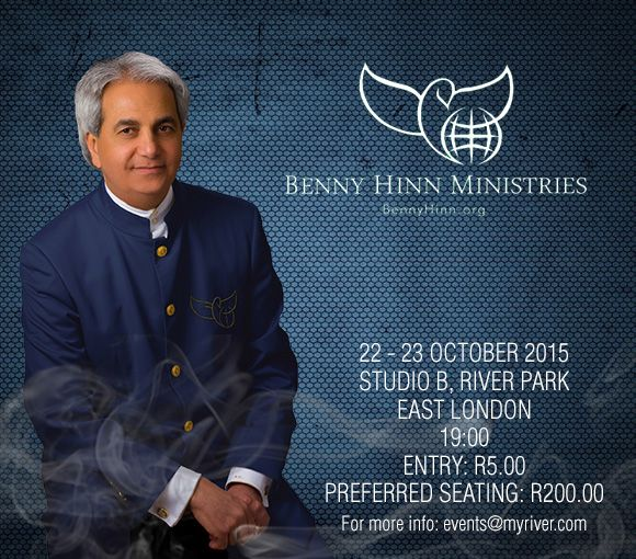 Benny Hinn  Click Here: http://online.computicket.com/web/event/benny_hinn/936227742/0/66747350 to book your ticket!