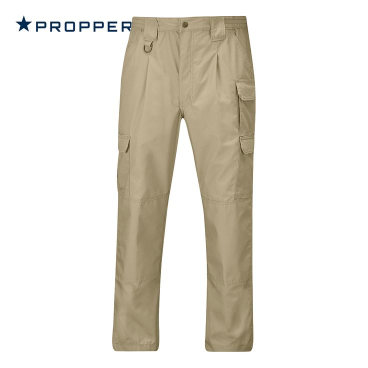 Propper Men's Lightweight Tactical Pants come with nine practical pockets, reinforced seat and knees, and Action-stretch waistband for perfect fit and comfort. Moreover, these functional cargo trousers have relaxed fit construction and are made of fade resistant Polycotton Ripstop with DuPont Teflon protector. Only £44.00! Find out more at Military 1st online store. Free UK delivery and returns! Free shipping to the U.S. and Ireland. Competitive overseas shipping rates.
