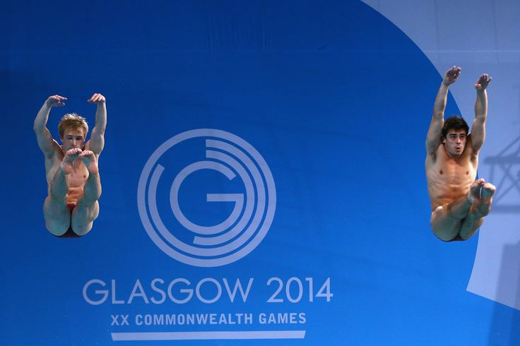 Jack Laugher and Chris Mears of England