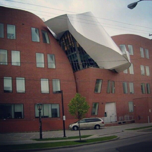 Gehry in Cleveland, OH.
