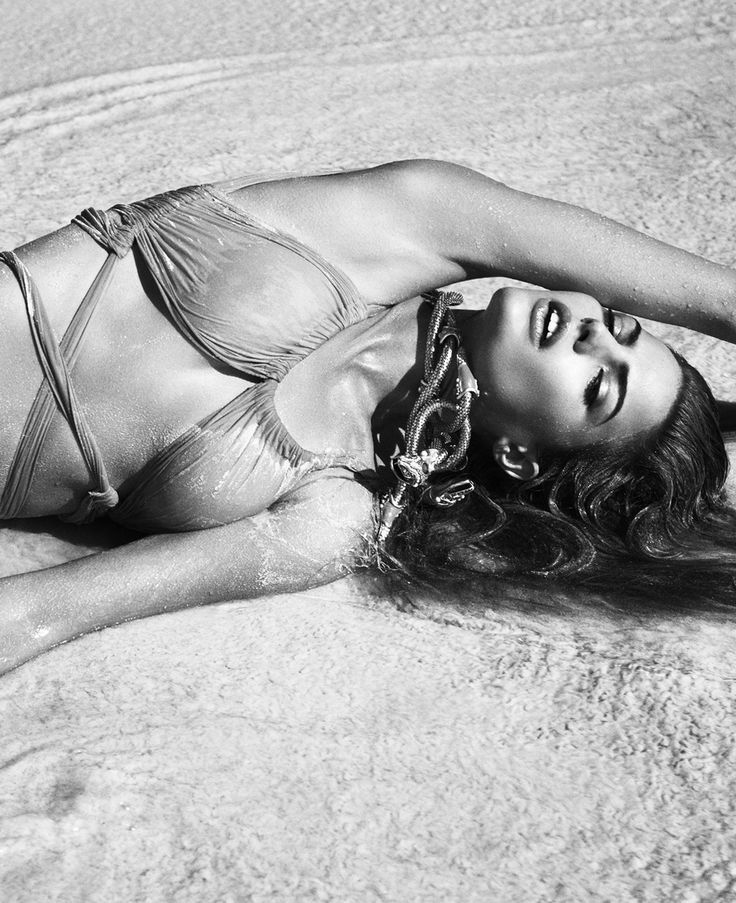 Cameron Russell by Greg Kadel for Vogue Germany, July 2010