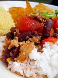 Kääpiölinnan köökissä: Cornfed dames - maissileipää ja chili con carnea