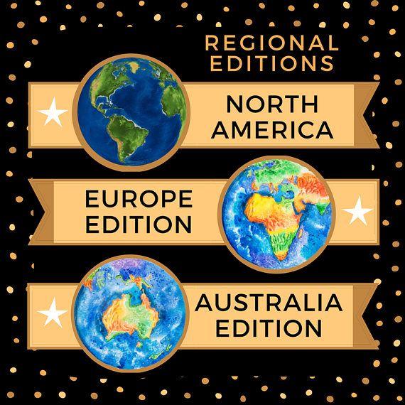 Cosmic Calendar 2018  Australia & European Editions