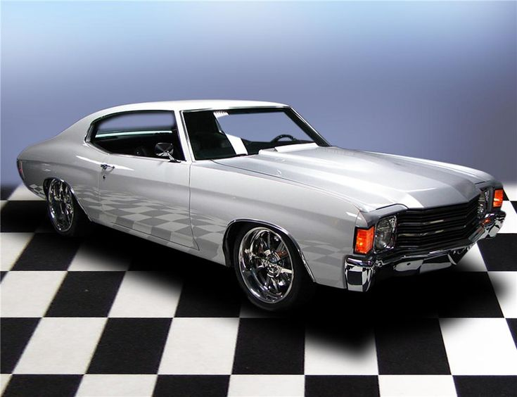 """72 chevelle 20"""" Budnik wheels with performance rubber have ..."""