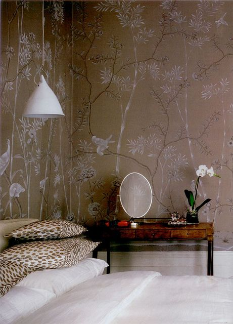 {décor inspiration | print & pattern : always de gournay} by {this is glamorous}, via Flickr