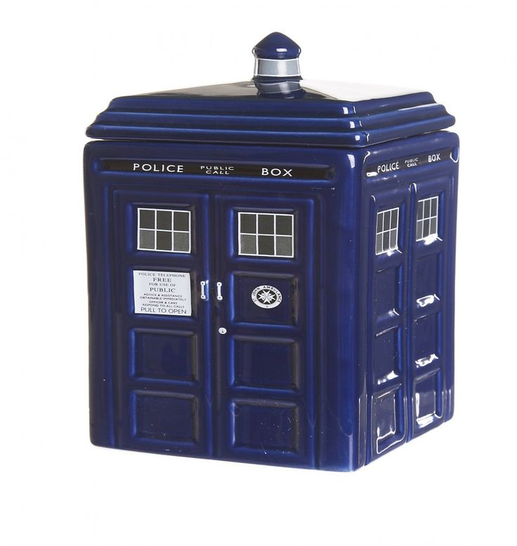 Doctor who ceramic tardis cookie jar jars cookie jars and doctors - Tardis cookie jar ...