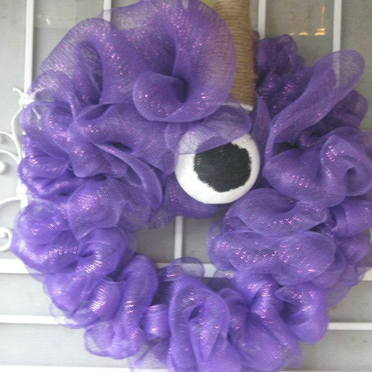 Excited to share the latest addition to my #etsy shop: PURPLE PEOPLE EATER #homedecor #halloween #entryway #kaylaskreationcrafts http://etsy.com