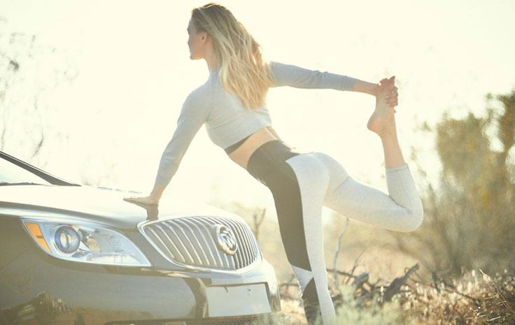 Youll Never Believe What Bar Refaeli Uses for Yoga - SELF