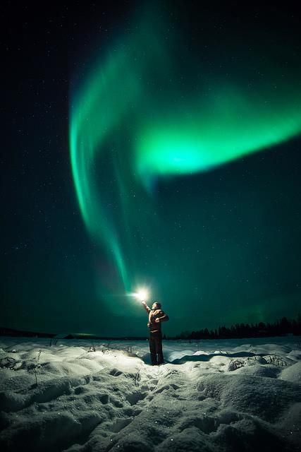 Touching the Northern Lights