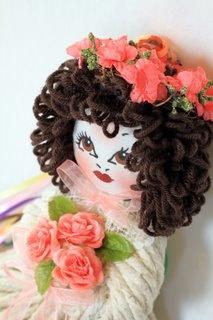 Whimsy Mop Doll by MopTopsbyBrenda on Etsy, $34.99