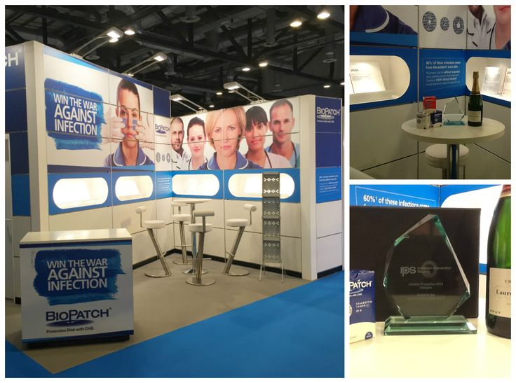 Congratulations to Shona and the Biopatch Team on winning Best Small Stand Award #biopatch #infectionprevention #SECC #Glasgow #2014 #events #exhibitions #gravitymatrix  www.gravitymatrix.co.uk Congratulations to Shona and the Biopatch Team on winning Best Small Stand Award #biopatch #infectionprevention #SECC #Glasgow #2014 #events #exhibitions #gravitymatrix  www.gravitymatrix.co.uk