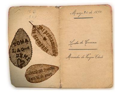 """Foto para recordar el origen de la @despensa1893 """"El Libro de Cocina iniciado en 1893 por Mercedes de Vargas Clark, inspiración y motor de la Despensa 1893. Un tributo a mi madre, mi abuela y mi bisabuela"""" #NavidadDiferenteEnBarrioItalia"""