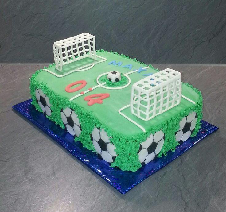 Fußball Feld  torte