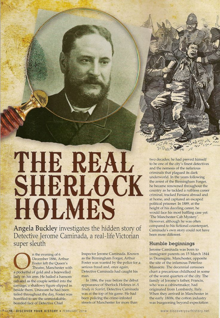 the real sherlock holmes Sherlock holmes is a fictional character created by arthur conan doyle in 1887 he is an english consulting detective living in london at 221b baker street.