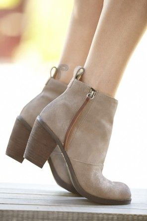 neutral Fall Bootie by Dolce Vita