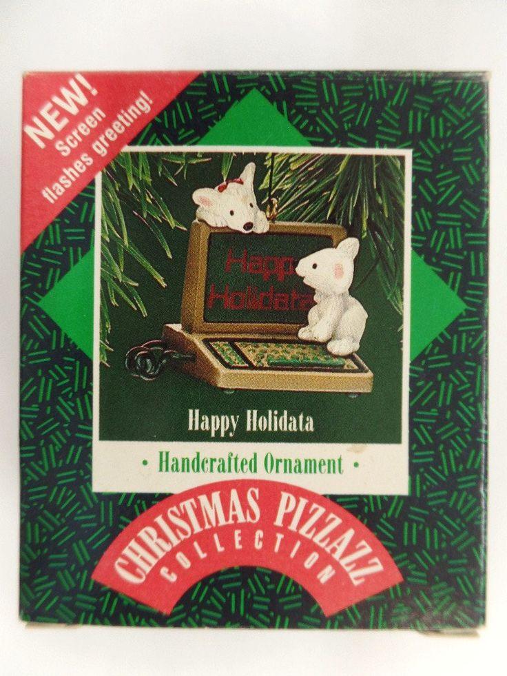 Hallmark Happy Holidata Christmas Ornament 1987 NRFB New