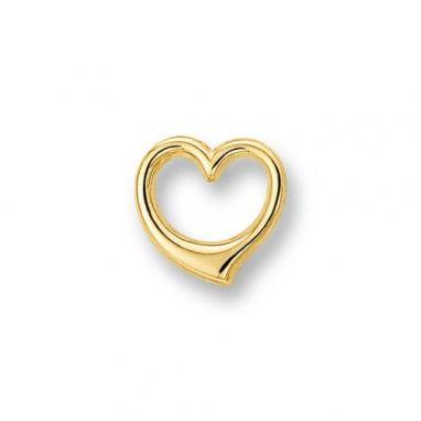 Gouden hartje bedel 4009517 - Trendjuwelier