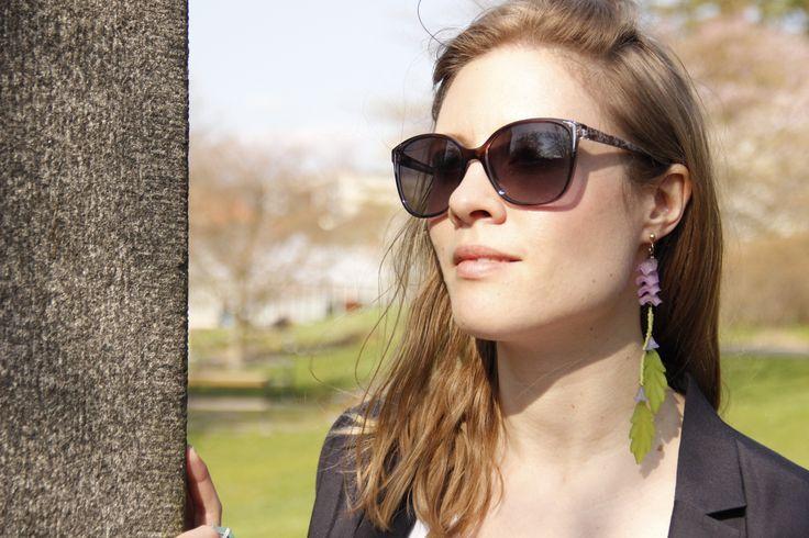 Leaf-me earring