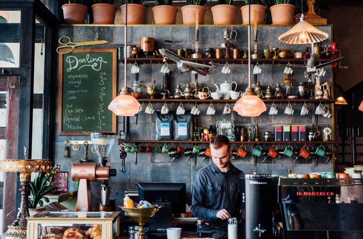 Le Darling : nouveau splendide bar et café du Boulevard St-Laurent