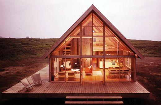 Prefab cabin by Jens Risom