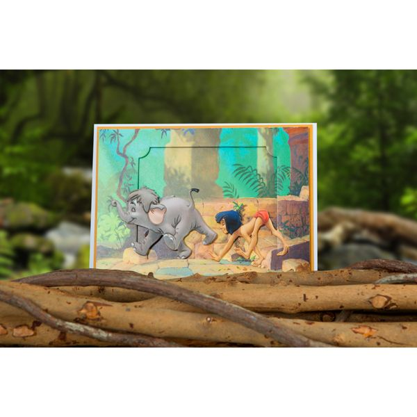 Disney The Jungle Book Junior and Mowgli Limited Edition Die and Paper Pad No Colour