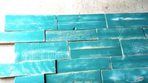 Watch How They Make This Fabulous Decor Piece Out Of Free Pallet Wood! | DIY Joy Projects and Crafts Ideas