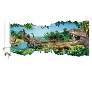 3D Wandtattoo Dinosaurier Welt
