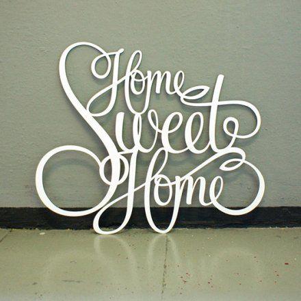 Westpaket Dekoschriftzug home sweet home online kaufen ➜ Bestellen Sie Dekoschriftzug home sweet home günstig ab 29,00€ im design3000.de Online Shop mit versandkostenfreiem Versand ab 50€!