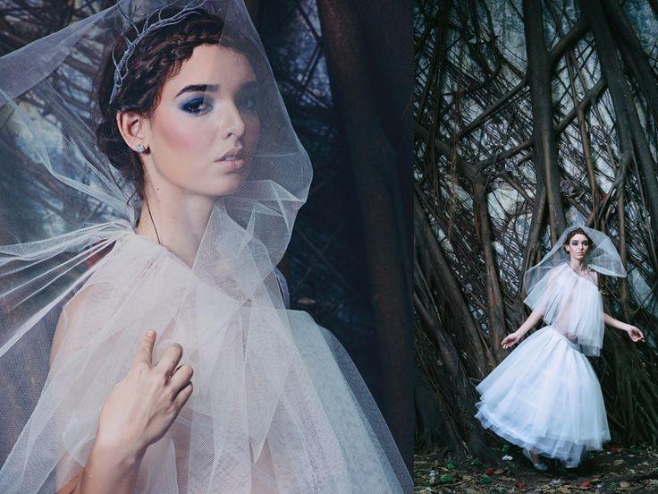 Fashion collection process. Leonie Leonardo