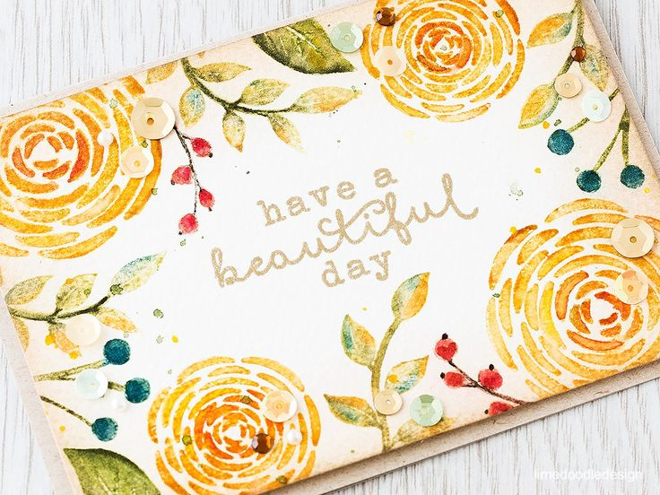 Coloring directly to the stamp with Distress Markers. Find out more by clicking the following link: http://limedoodledesign.com/2016/02/hopping-with-hero-arts/