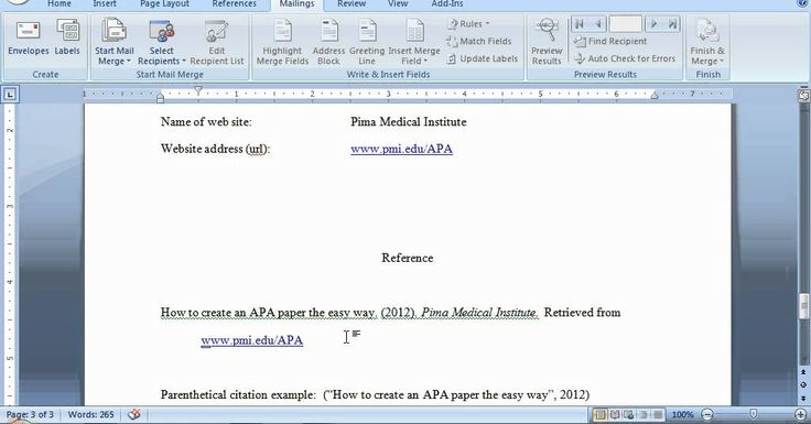 apa how to reference guidelines