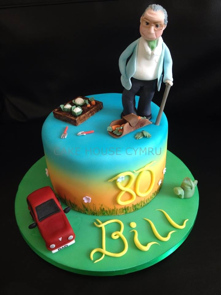 259 Best Cakes 80th Birthday Images By Therese Scribner On