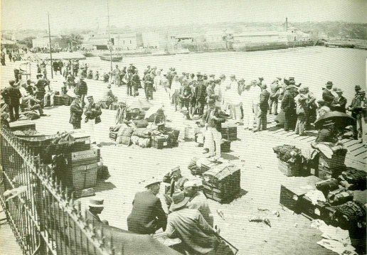 Geni - Photos in Photos from Anglo Boere Oorlog/Boer War (1899-1902) Internees Portugal Owing to a lack of housing facilities, a serious epidemic of fever and pressure from the British government the Boers were shipped off to Portugal and held there until the cessation of hostilities..
