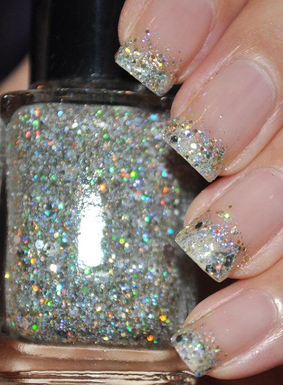Gradient French Manicure: Best 25+ Glitter Manicure Ideas On Pinterest
